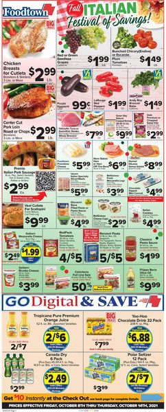 Catalogue Foodtown from 10/08/2021