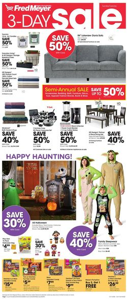 Current weekly ad Fred Meyer