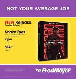 Catalogue Fred Meyer from 10/19/2021