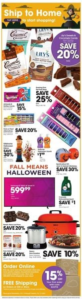 Catalogue Fry's Halloween 2021 from 10/13/2021
