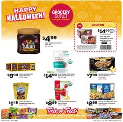 Catalogue Grocery Outlet Halloween 2021 from 10/06/2021