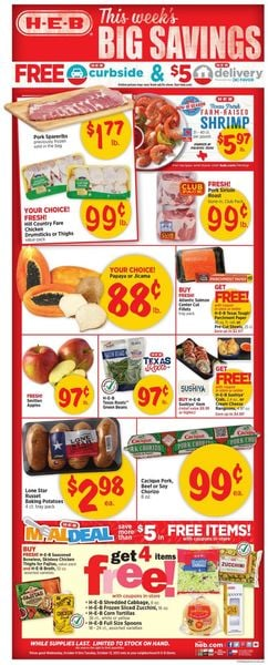 Catalogue H-E-B from 10/06/2021