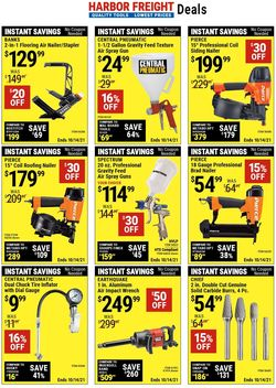 Catalogue Harbor Freight from 10/01/2021