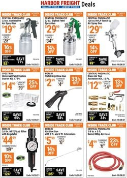 Catalogue Harbor Freight from 10/14/2021