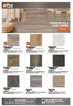 Catalogue Home Depot from 10/18/2021