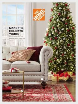 Catalogue Home Depot HOLIDAY 2021 from 10/19/2021