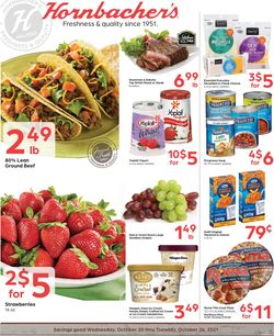 Current weekly ad Hornbacher's