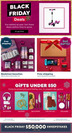 Current weekly ad HSN