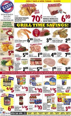Catalogue Karns Quality Foods from 10/05/2021