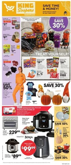 Catalogue King Soopers Halloween 2021 from 10/20/2021