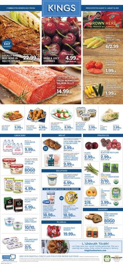 Catalogue Kings Food Markets from 08/13/2021