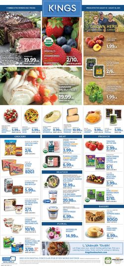 Catalogue Kings Food Markets from 08/20/2021
