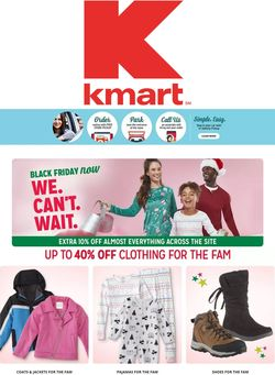 Catalogue Kmart Black Friday ad 2020 from 11/17/2020