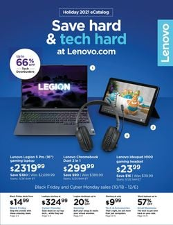 Current weekly ad Lenovo