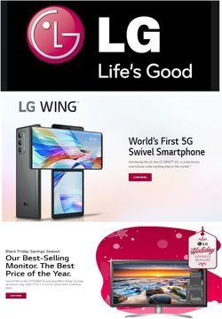 Current weekly ad LG