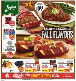 Catalogue Lowes Foods from 10/13/2021