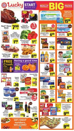 Catalogue Lucky Supermarkets from 10/06/2021