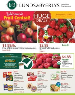 Catalogue Lunds & Byerlys from 09/23/2021