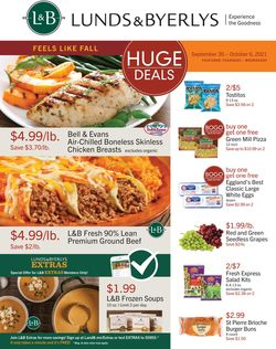 Catalogue Lunds & Byerlys from 09/30/2021