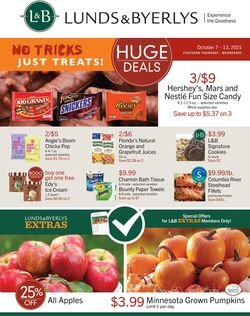 Catalogue Lunds & Byerlys from 10/07/2021