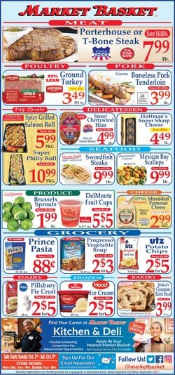 Catalogue Market Basket from 10/03/2021