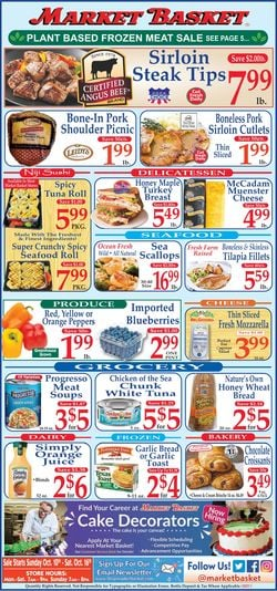 Catalogue Market Basket from 10/10/2021