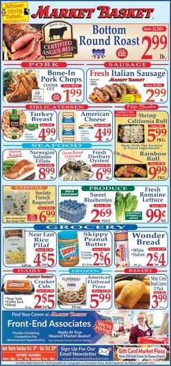 Catalogue Market Basket from 10/17/2021