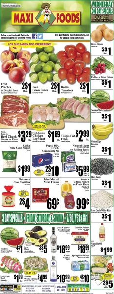 Catalogue Maxi Foods from 07/28/2021