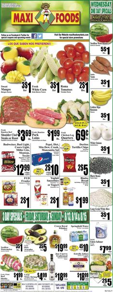Current weekly ad Maxi Foods