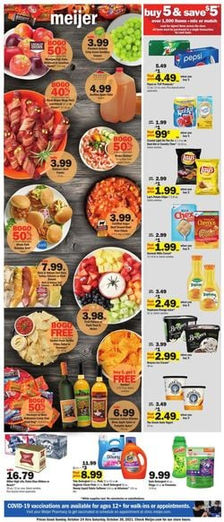Catalogue Meijer from 10/24/2021