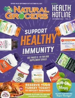 Current weekly ad Natural Grocers
