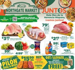 Catalogue Northgate Market from 09/22/2021