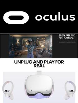 Catalogue Oculus Black Friday 2020 from 11/13/2020