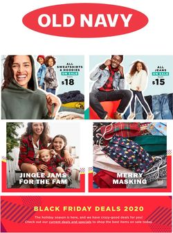 Catalogue Old Navy Black Friday ad 2020 from 11/19/2020