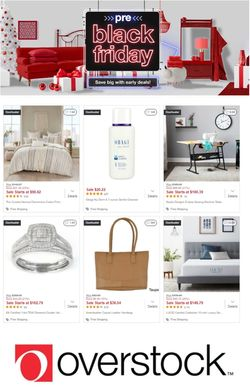 Catalogue Overstock Black Friday 2020 from 11/05/2020