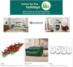 Catalogue Overstock Black Friday 2020 from 11/24/2020
