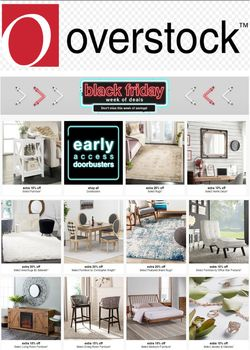 Current weekly ad Overstock
