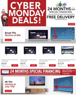 Catalogue P.C. Richard & Son Cyber Monday 2020 from 11/30/2020