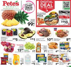 Current weekly ad Pete's Fresh Market