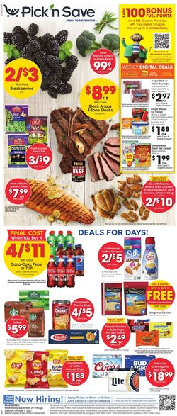 Catalogue Pick 'n Save from 09/29/2021