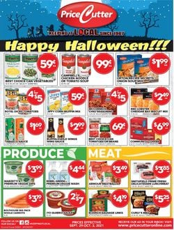 Catalogue Price Cutter Halloween 2021 from 09/29/2021