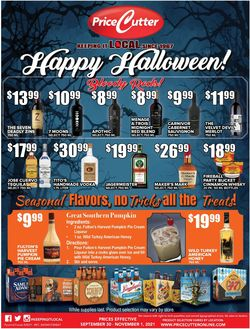 Catalogue Price Cutter Halloween 2021 from 09/30/2021