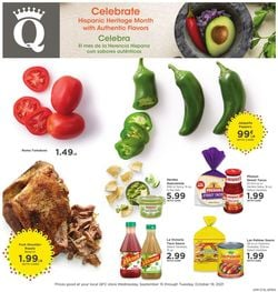 Catalogue QFC from 09/15/2021