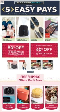 Catalogue QVC Black Friday 2020 from 11/12/2020