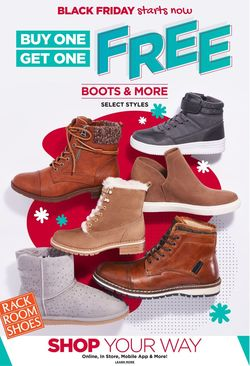 Catalogue Rack Room Shoes Black Friday 2020 from 10/29/2020
