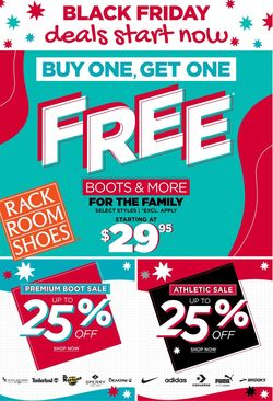 Catalogue Rack Room Shoes Black Friday 2020 from 11/22/2020