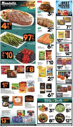 Current weekly ad Randalls