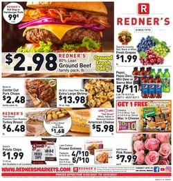 Catalogue Redner's Warehouse Market from 09/30/2021