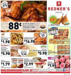 Catalogue Redner's Warehouse Market from 10/14/2021