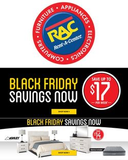 Catalogue Rent-A-Center Black Friday 2020 from 11/16/2020